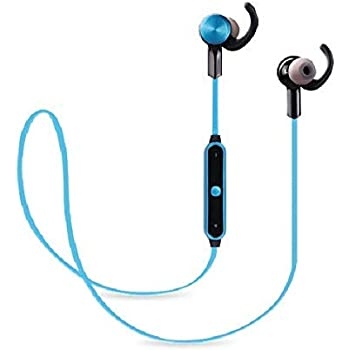 11e50915d13 Zebronics BE-390 Stereo Type Bluetooth Earphone with Dual Pairing, Call  Function and Media Control (Blue)