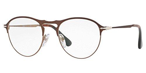 Ray-Ban Herren 0PO7092V Brillengestelle, Blau (Matte Brown), 48.0