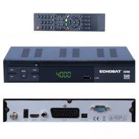 HD Digitaler Satelliten-Receiver (DVB-S / DVB-S2, HDMI, SCART) Echosat 20700 FTA Freie Kanal - Ideal Astra, Hotbird, Nilesat, Türksat