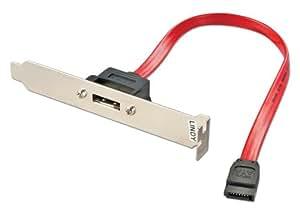Lindy 33234 Adaptateur de slot eSATA/SATA