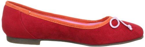 Jane Klain 221 716, Ballerine donna Rosso (Rot (rot 503))
