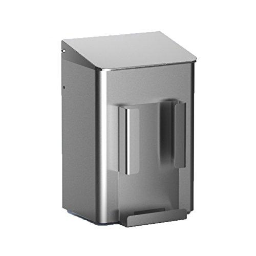 MEDIQO-LINE Hygiene Abfallbehälter 6 Liter, Farbe:Edelstahl