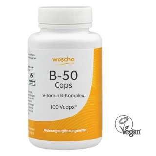 Woscha B-50 Komplex, 90 K-Caps (vegan) (Caps B50)