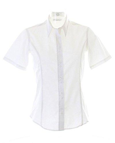 Kustom Kit Damen Bluse Weiß
