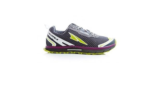 Altra Lone Peak 20 Zero Drop Trail Running Shoes Dark Grey Womens
