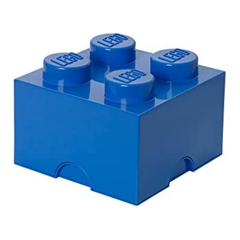 LEGO 4003 Storage Brick 4 Medium Blue Baukästen & Konstruktion