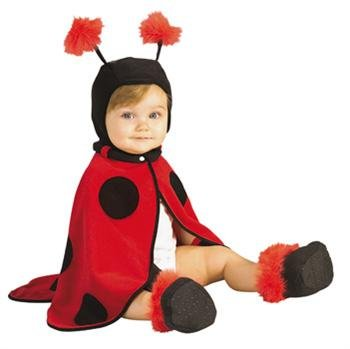 Kinder / Baby Kostüm Ladybug - kleiner Käfer (Rubies Baby Halloween Kostüme)