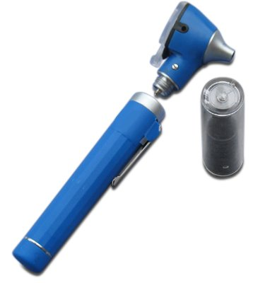 Mini Otoskop Fiber Optik mit Zubehör -