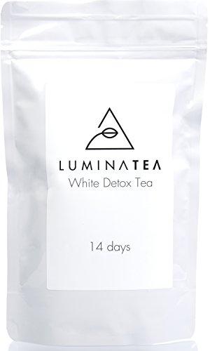Luminatea Premium-Kräutertee mit weißem Tee - begleitend zu Detox-Kuren - Pai Mu Tan - loser Tee mit ganzen Blättern - 100% natürlich - milder Geschmack - 100g