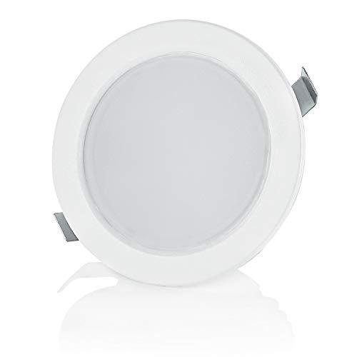 Sweet Led Lot de 4 spots LED 3,5 W 230 V IP44 pour meubles encastrables 4er-kaltweiß
