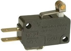 SWITCH, SNAP ACTION, SPDT V7-2B17D8-201 By HONEYWELL S&C - Snap-action Switch