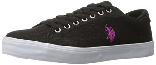 us-polo-assnwomens-womens-cherish-d-fashion-sneaker-black-fuchsia-10-m-us