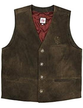 Michaelax-Fashion-Trade Spieth & Wensky - Herren Lederweste ZV Antik Rüdiger (009592-0308)
