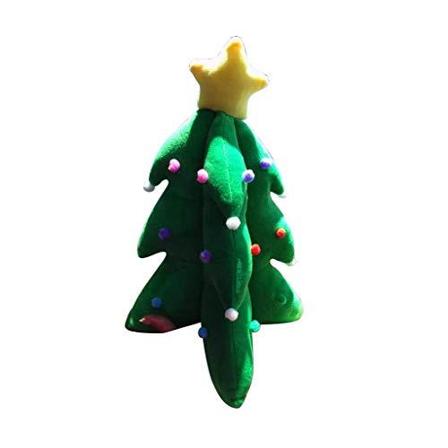 Brilliant firm Almohada Juguete Árbol de Navidad Muñeco de Peluche de Juguete Niña Muñeca Material Muy Seguro y Saludable (Color : Green, Size : Height 85cm)