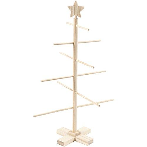 Árbol de Navidad, 60 cm de alto, 40,5 cm de ancho, 1 unidad