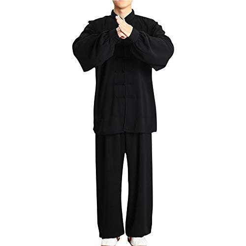 uirend Kampfsport Bekleidung Unisex Erwachsener Trainingsbekleidung Sets - Chinesisch Traditionell Tai Chi Männer Shaolin Kung Fu Kleidung Frauen Wing Chun Baumwolle Anzüge Performance Kostüme