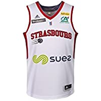 SIG Strasbourg Réplica Domicile Maillot de Basket Homme