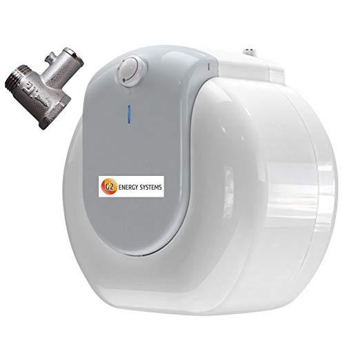 10 / 15 L Liter druckfester Übertisch / Untertisch Warmwasserspeicher, Elektro Boiler, Kleinspeicher