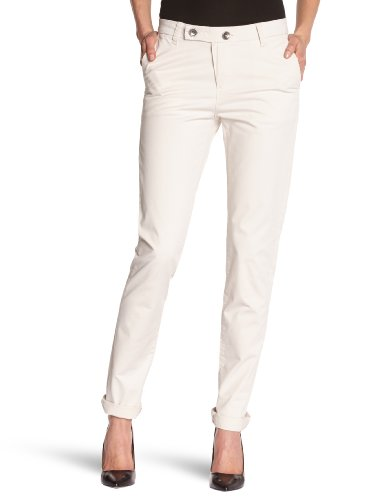 Lee Cooper - Pantaloni chino, donna Grigio (Grey) 42 IT (28W/34L)
