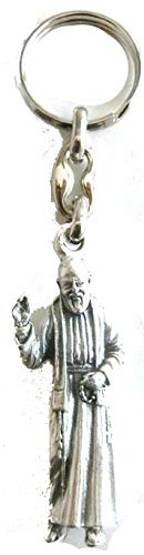 GTBITALY 50.089.30 028 Porte-clés Padre Pio Saint de Pietrelcina