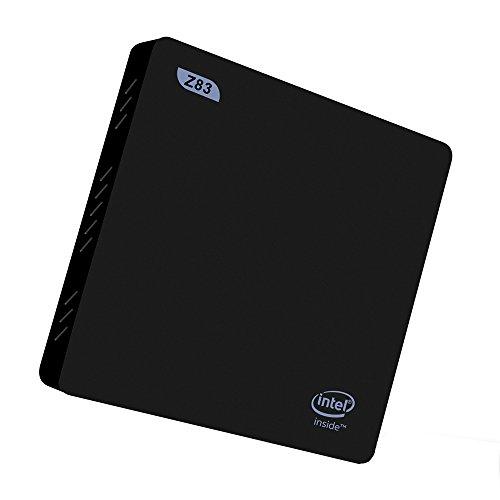 Plater® Beelink Z83-II Mini PC Windows 10 x5-Z8350 Intel Atom 2GB/32GB 1000M/LAN 2.4/5.8G WiFi BT 4.0 Streaming Media Player
