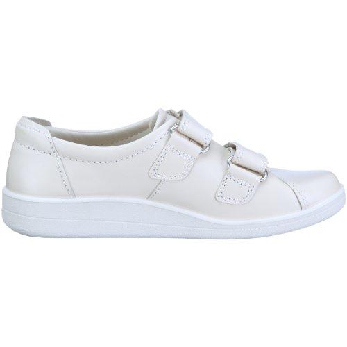 Ecco SOFT II 012573, Chaussures basses femme Blanc (TR-B1-Blanc-175)