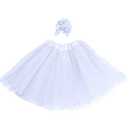 ♥ Loveso♥ Tüllrock Mädchen Ballett Röcke Tutu Rock Ballettrock Tütü Tüllrock für Party Mädchen Kostüm Ballettrock Classic - Römische Party Kostüm