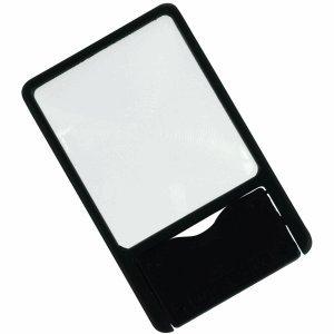 Ecobra Taschen-Lupe Visitenkartenformat 2,8-fach