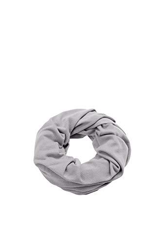 ESPRIT Accessoires Damen Schal 108EA1Q011, Grau (Medium Grey 035), One Size (Herstellergröße: 1SIZE)
