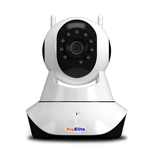 ProElite IP01AX 2MP Full HD (1920x1080) WiFi Wireless IP Security Camera CCTV [Watch Live Demo] (Supports Upto 128 GB SD Card) [Dual Antenna]