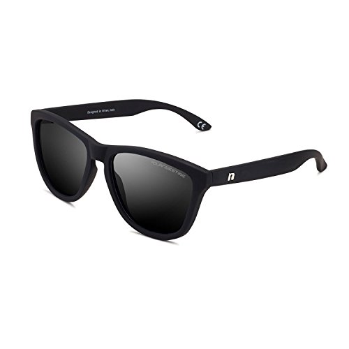 CLANDESTINE Model Matte Black N - Damen & Herren Nylon HD Sonnenbrillen