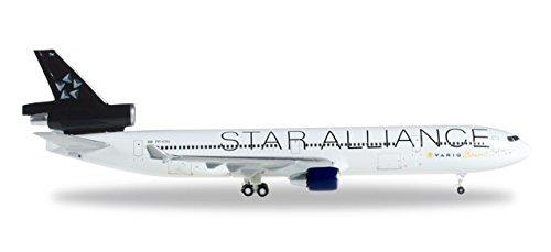 herpa-527972-md-11-varig-star-alliance