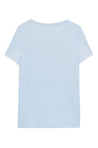 next T-shirt avec torsade sur le devant Petite Femme Bleu