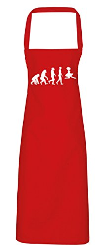 hippowarehouse Irish Dancer Evolution Schürze Küche Kochen Malerei DIY Einheitsgröße Erwachsene, rot, Einheitsgröße (Riverdance Kostüm)
