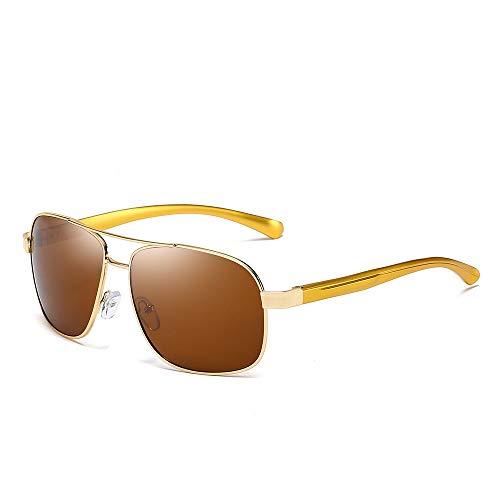 YIWU Brillen Sonnenbrillen Für Männer Sonnenbrille Aus Aluminium-Magnesium Großhandel Polarisiertes Licht Spiegel Fahren Spiegel Fischen Männlicher Polarisator Brillen & Zubehör (Color : 5)