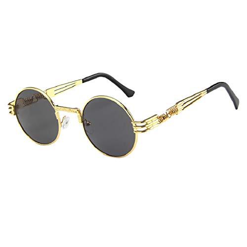 iCerber sonnenbrillen Süß Schöne Verspielt Frauen Männer Vintage Retro Brille Unisex Big Frame Sonnenbrille Eyewear UV 400 ❀❀2019 Neu❀❀(B)