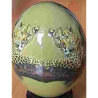 'Ostrich egg Night Tiger In Tree