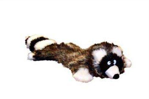 Bild: Kyjen Plush Puppies Ricky the Raccoon Hundespielzeug Quietschmatte Waschbär