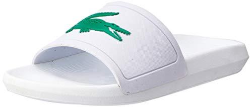 Lacoste Damen Croco Slide 119 3 737CFA0005082 Badeschuhe, Weiß (White), 38 EU