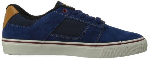 DC BRIDGE Herren Sneakers Blau (DC NAVY/WHEAT)