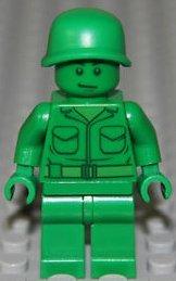Lego Toy Story Verde Soldato Dell'esercito Figure mini - Diviso da da set 7595