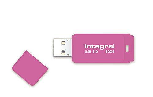 Integral Neon 32GB USB-Stick USB3.0 pink -