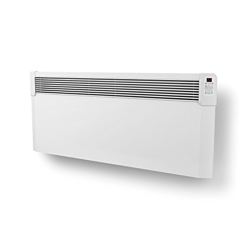 31fa5kbP OL. SS500  - TESY CN04 Electric Panel Heater With Timer. Wall Mounted, Splash Proof, LCD Temperature Display. Efficient, Energy Saving Heating - ErP/LOT 20 Compliant,