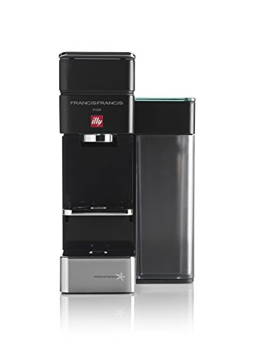 illycaffè illy, Y5 Espresso&Coffee, Máquina de café Iperespresso, conexión Bluetooth, Sistema Dash Replenishment Service (DRS), co, 1250 W, 1 Liter, Negro