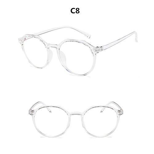 YMTP Tempel Für Gläser Runde Gläser Brillen Frauen Transparent Rahmen 2018 Retro Brillen Optische Rahmen Klare Gläser Gläser -