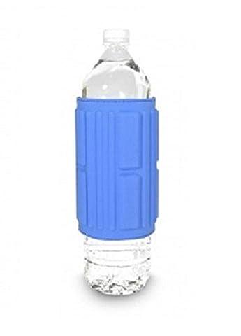 Etui magnétique Aquaflux grande bouteille pour magnétiser eau - Couleur Bleu Azur
