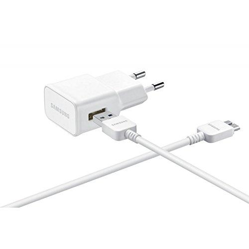 Samsung EP-TA10EWE-BULK USB-Ladegerät mit USB-Kabel für Samsung Galaxy Note 3 N9000, Weiß (Samsung Note 3 Ladegerät)
