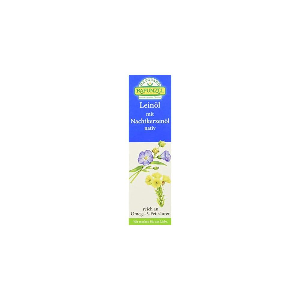 Rapunzel Leinl Mit Nachtkerzenl 2er Pack 2 X 100 G Bio