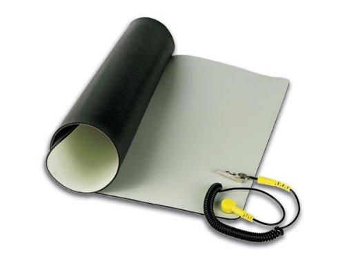 Preisvergleich Produktbild Velleman AS4 Dissipative Antistatik-Tischmatte mit Erdungskabel- 30X55Cm, 1 W, 1 V