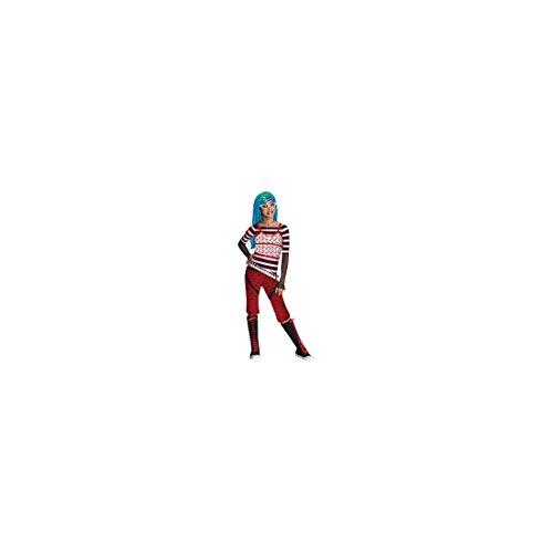 Kostüm Ghoulia Yelps Monster High für Mädchen - schlaaaauurrrig! - 7-9 (Kostüm Ghoulia)